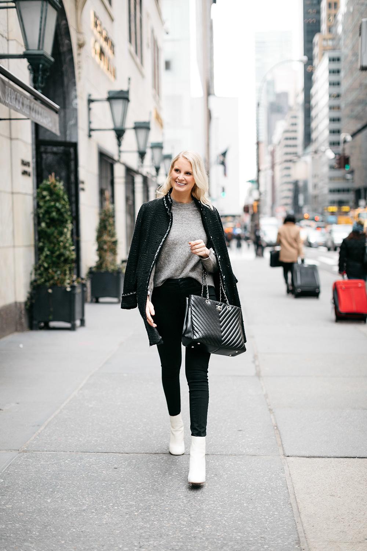 3.1 Phillip Lim Pearl-Sleeve Sweater | Dallas Style Bloggers