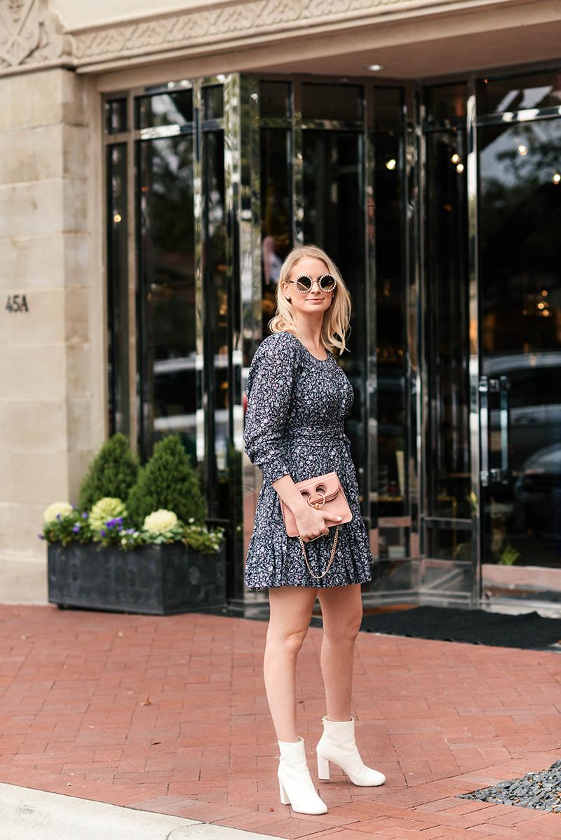 La Vie Rebecca Taylor Floral Mini Dress   The Style Scribe