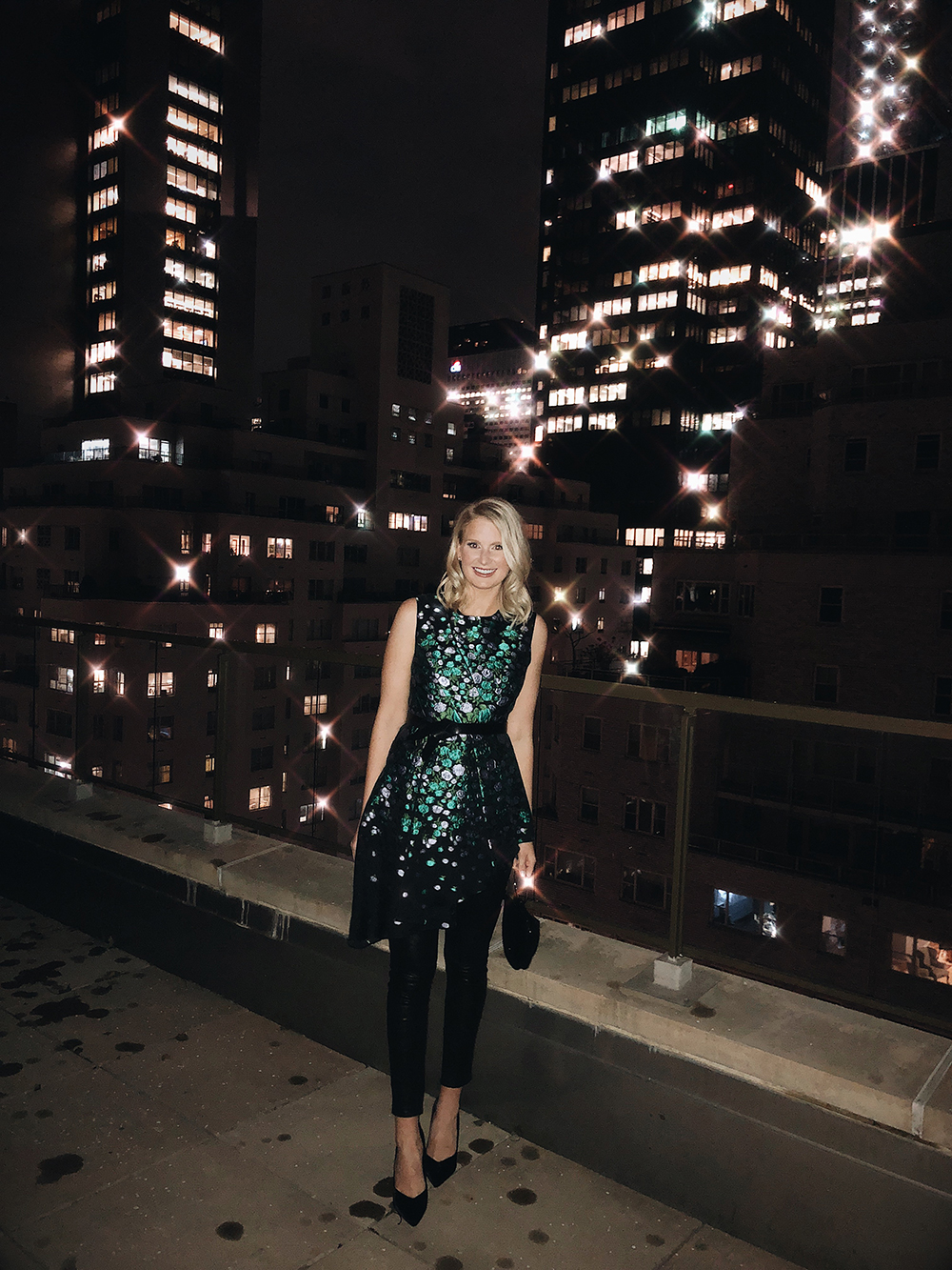 Lela Rose Dinner at NYFW with Rachel Parcell