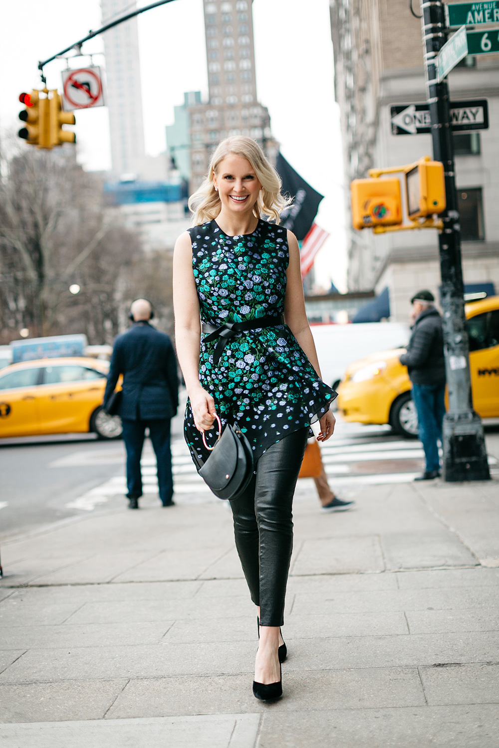 Merritt Beck at New York Fashion Week   The Style Scribe