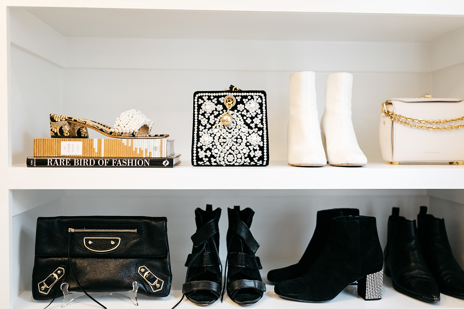 Master Bedroom Closet Design | Shoe and Handbag Storage