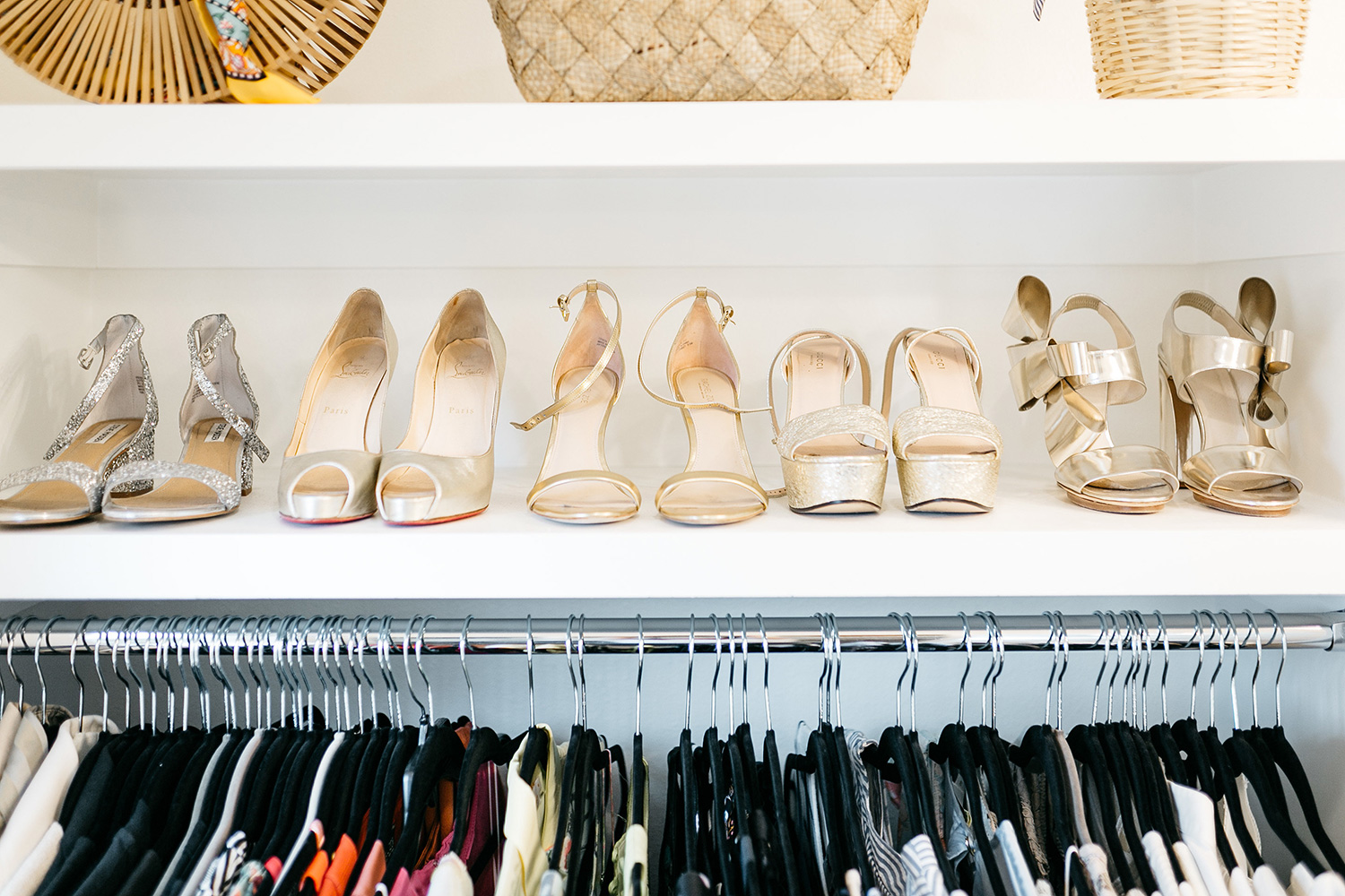 Master Bedroom Closet Goals | Shoe Storage Ideas