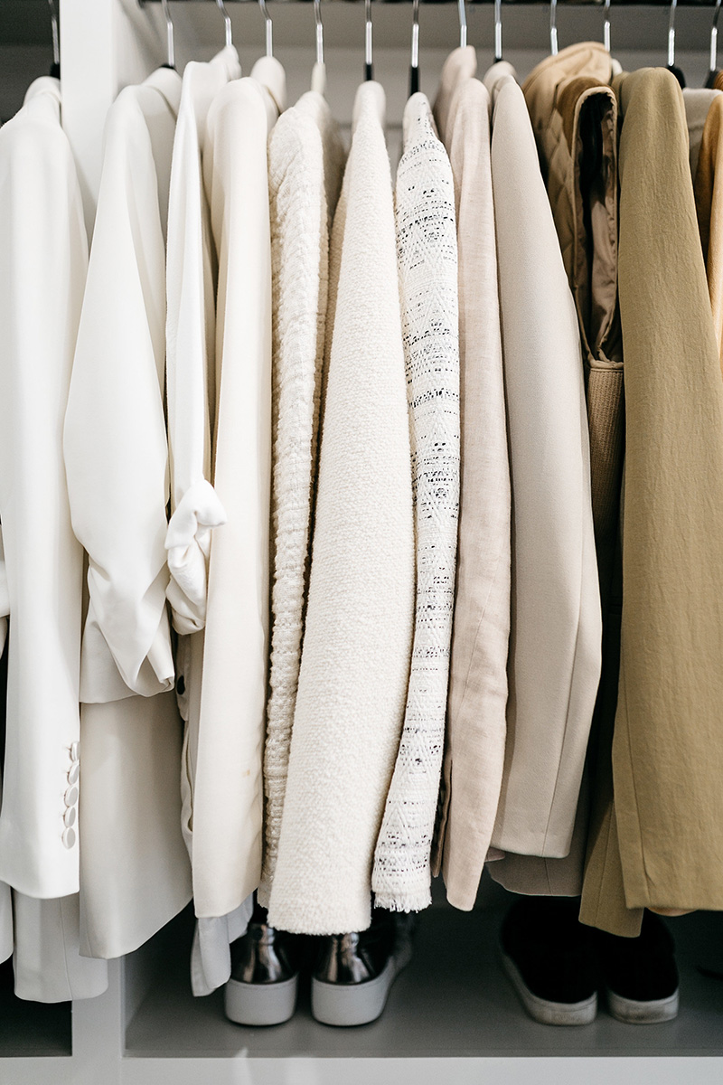 Master Bedroom Closet Goals | Color Coded Clothes