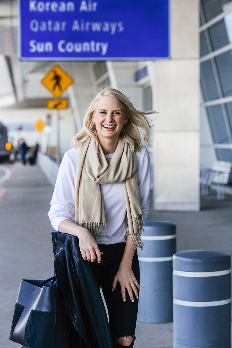 Long Haul Flight Outfit Ideas | The Style Scribe