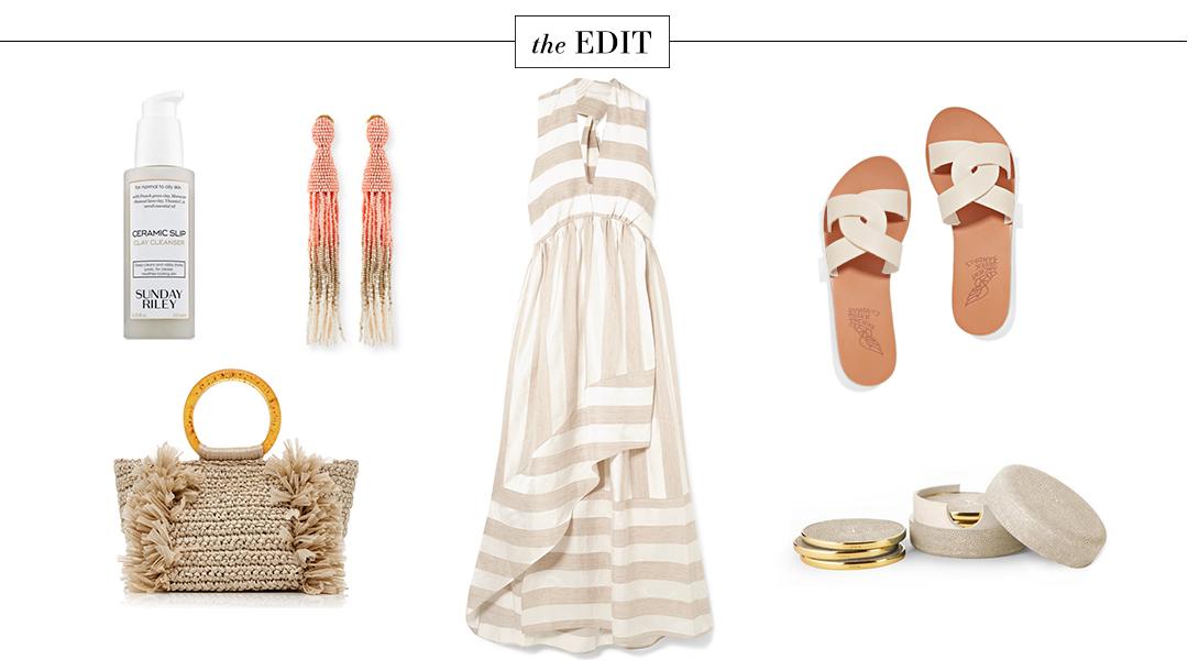 Paper London Bianca Stripe Dress | The Edit