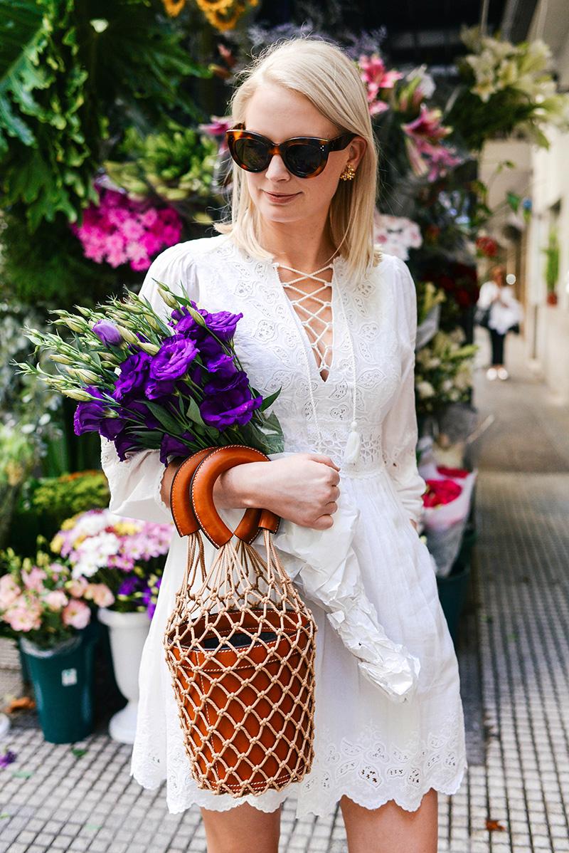 Staud Moreau Bag in Cognac | Dallas Style Blogger