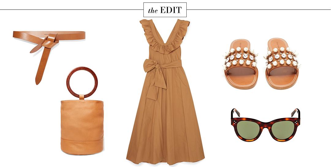 Three Graces London Josephine Dress | The Edit