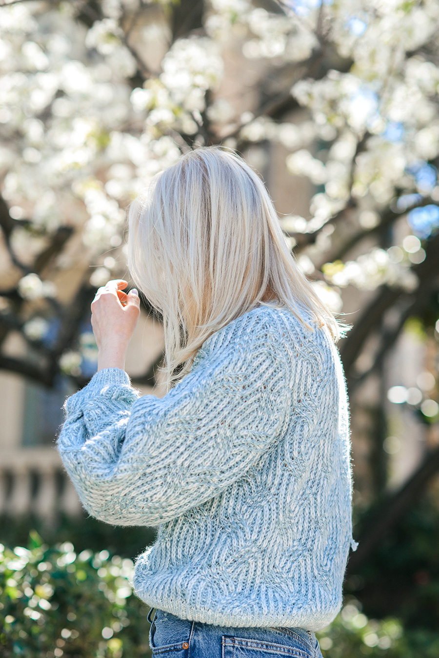 Topshop Swirl Tuck Sweater from Nordstrom | Merritt Beck