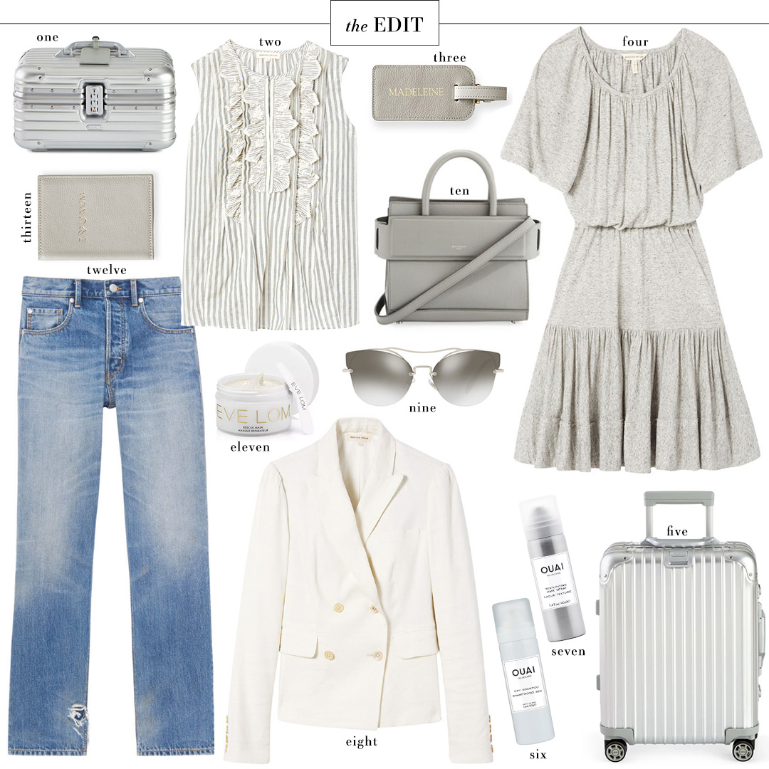 Rebecca Taylor Gathered Jersey Dress | Chic Travel EDIT