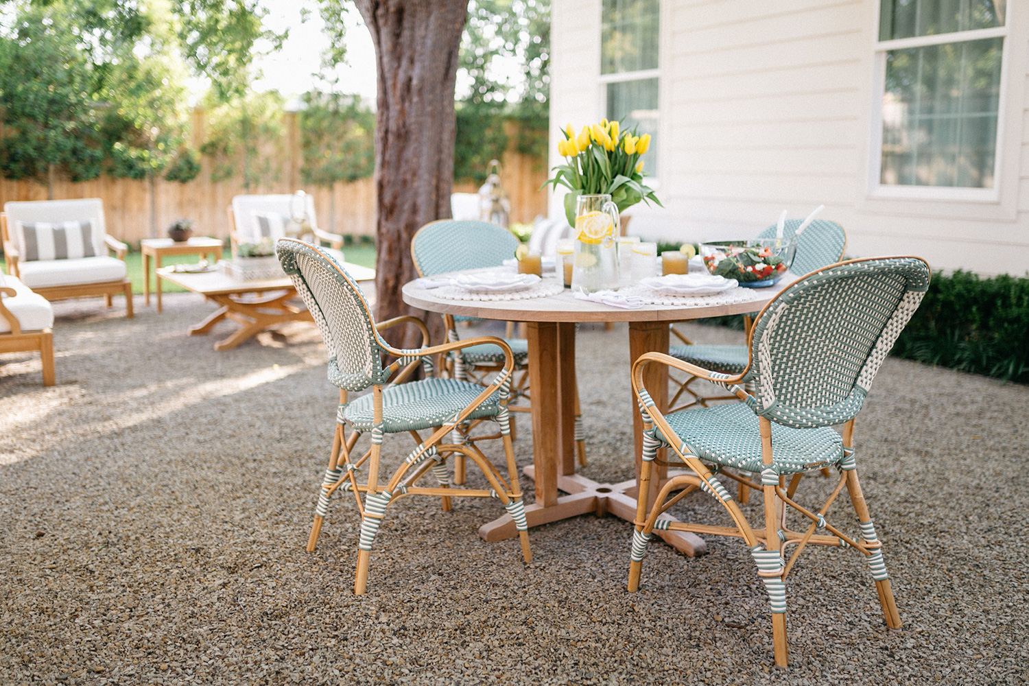 Tips For Styling A Chic Outdoor Patio With Frontgate Patio Furniture