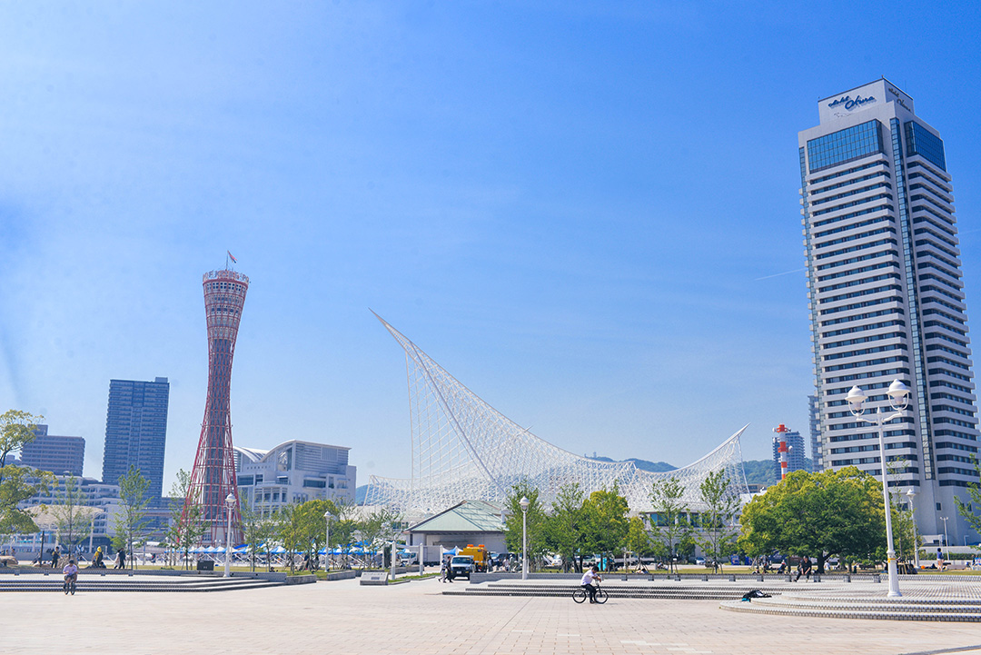 Kobe Port Tower, Meriken Park | Japan Travel Diary