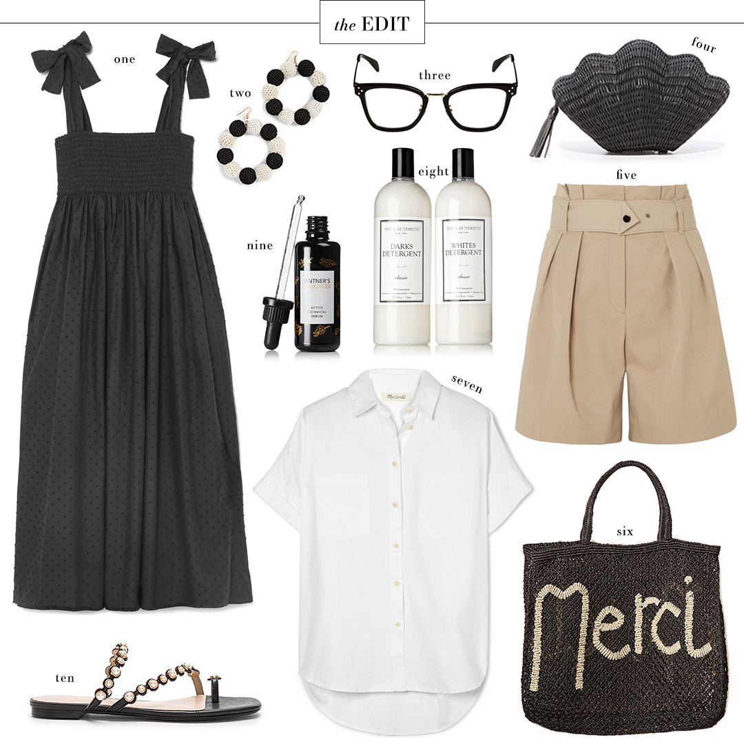 Merci Straw Tote | The Edit