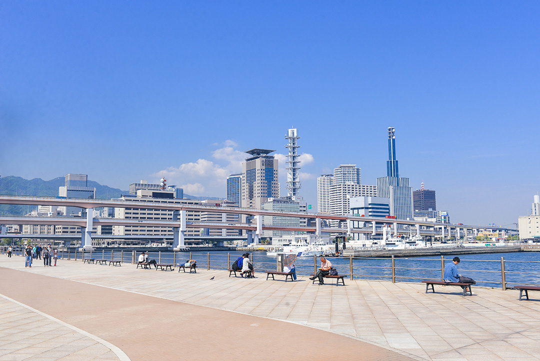 Meriken Park in Kobe | Japan Travel Diary