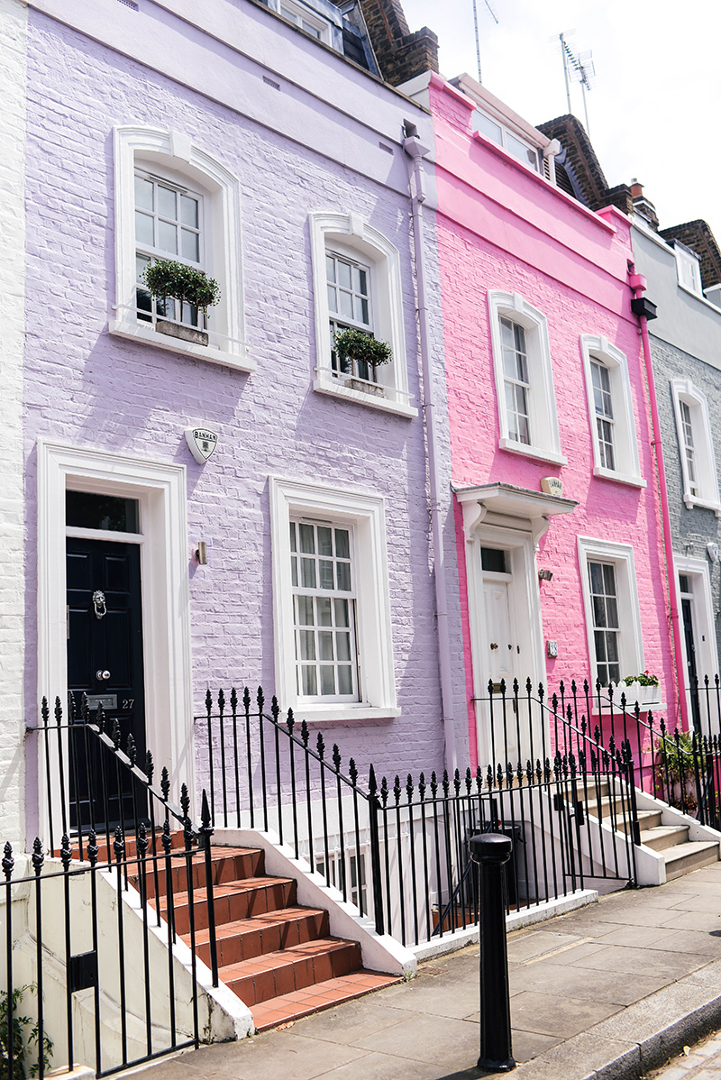 Most Colorful Street in London: Bywater Street in Chelsea