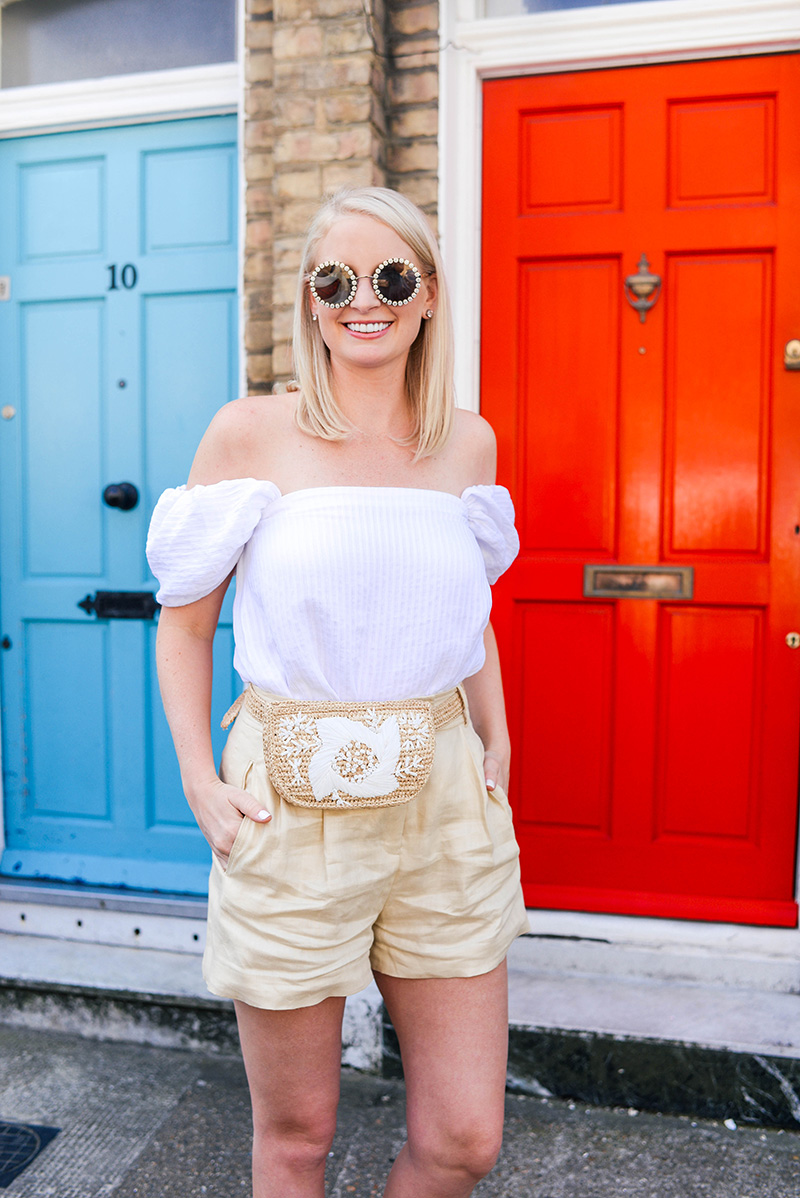 Mango Linen Shorts | The Style Scribe