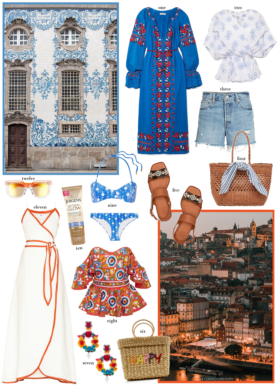 Travel Style Inspiration: Portugal | Outfit Ideas for Lisbon and Porto