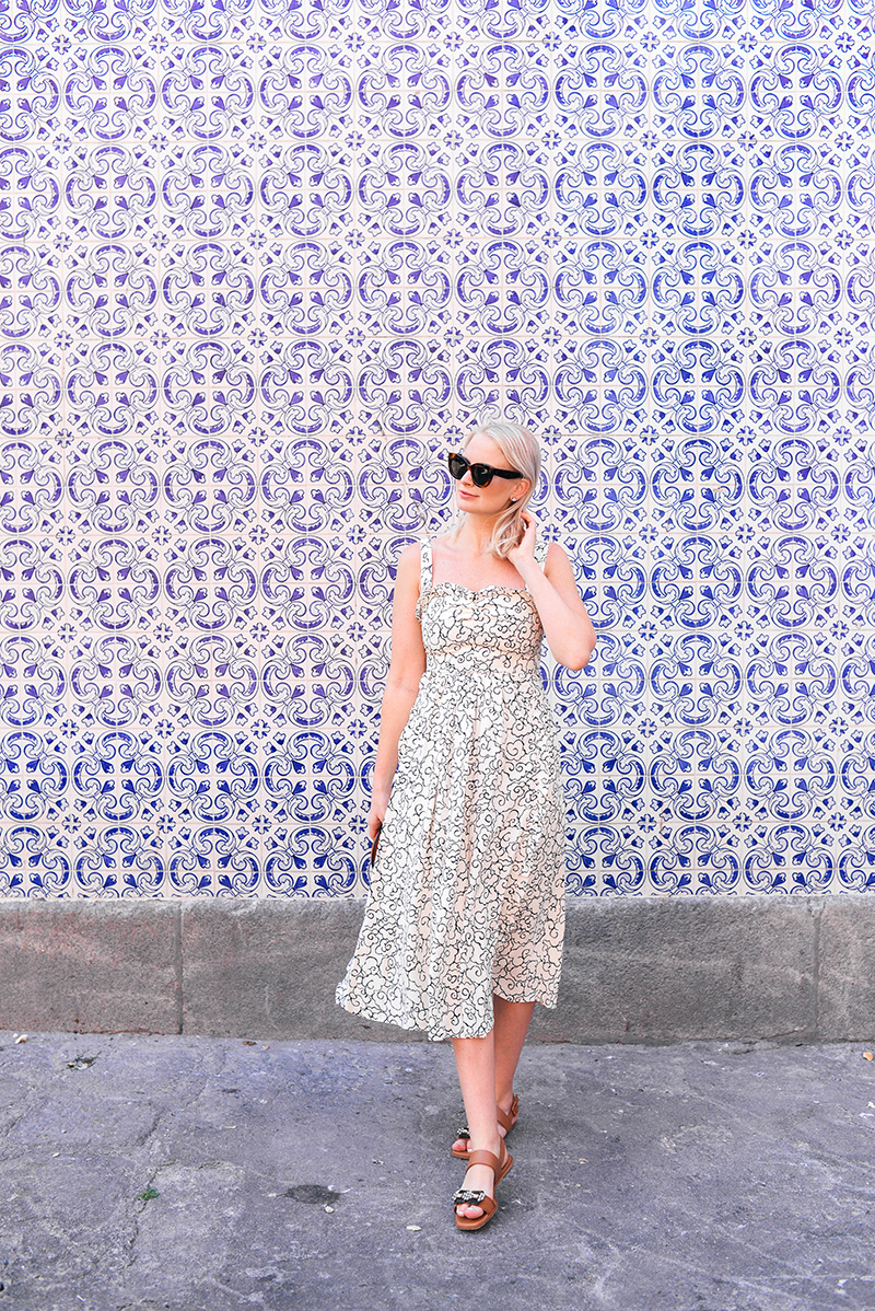 First Day in Porto, Portugal | Merritt Beck in Alexa Chung Dress