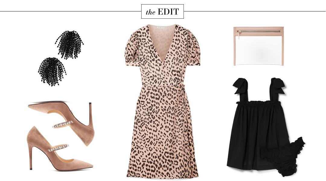 Alice + Olivia Leopard Print Dress   The Edit