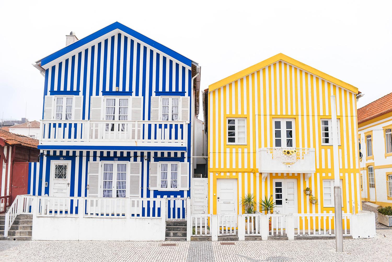 Exploring Costa Nova: Photos of the beach, striped houses and more!