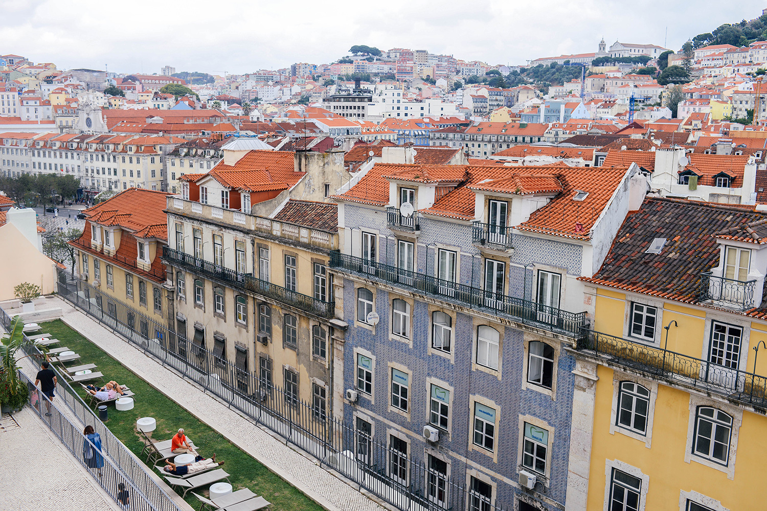 Colorful photos of Lisbon