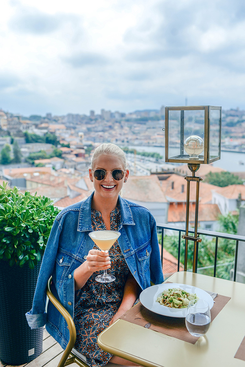 Lunch with a View in Porto, Portugal | Digby at Avantgarde Hotel
