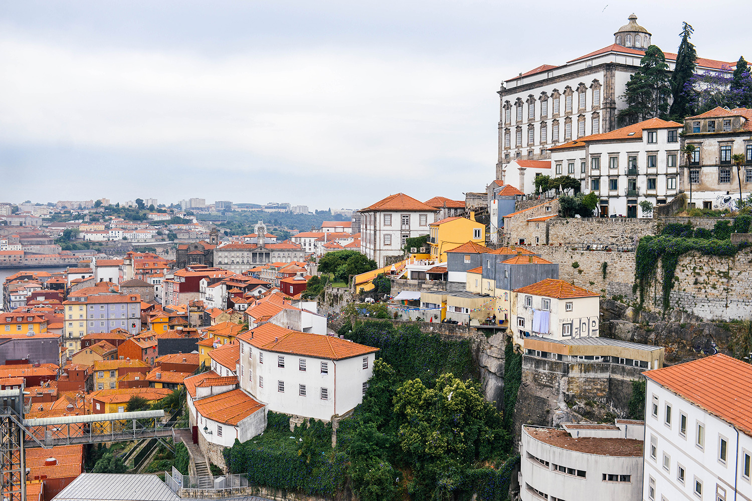 Views from the Dom Luis Bridge in Porto, Portugal | The Style Scribe