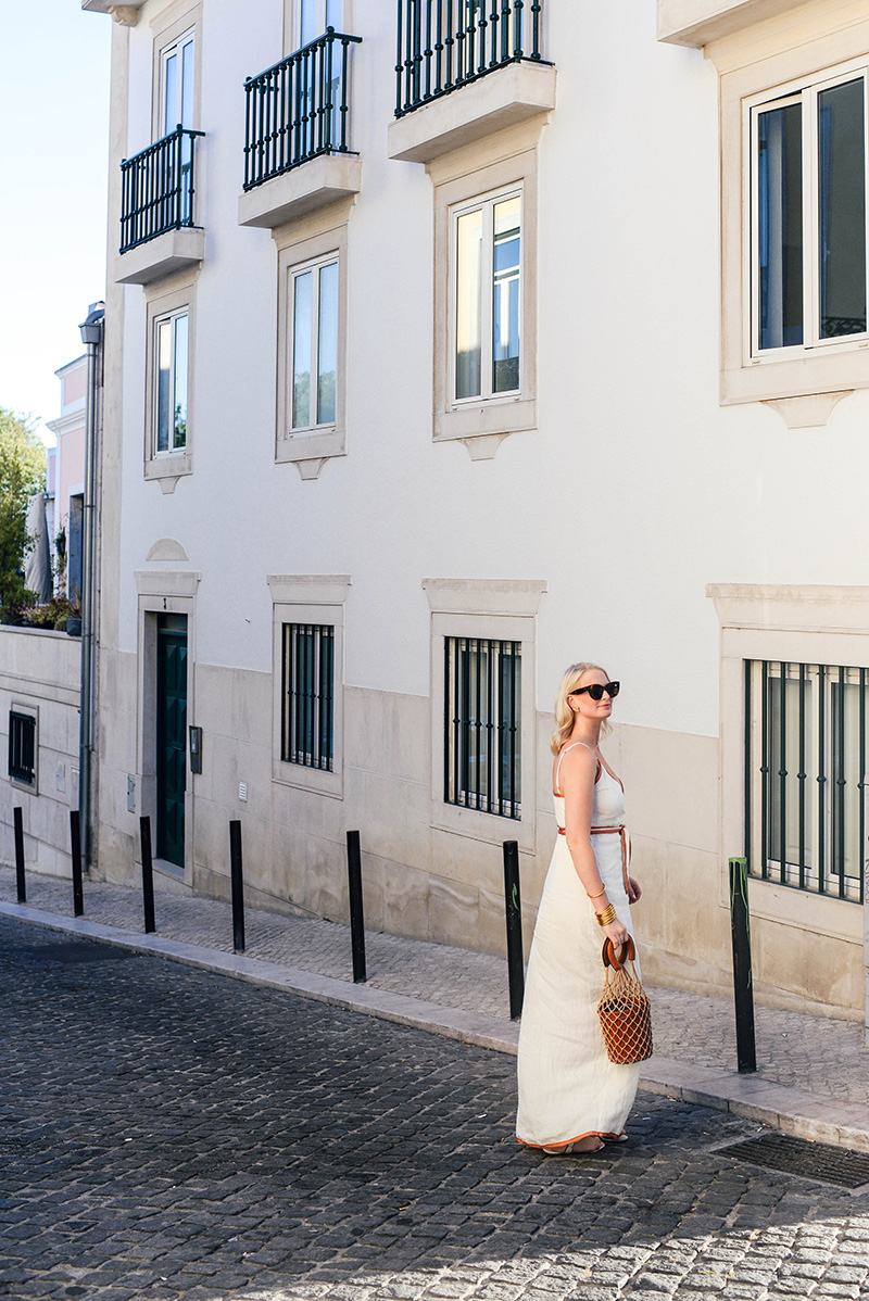 Sunsets in Lisbon | Merritt Beck wearing LPA 531 Dress