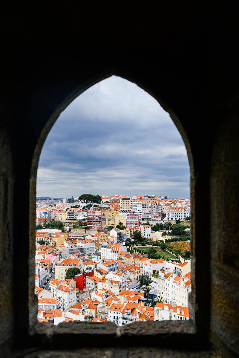 Castelo Sao Jorge | Lisbon, Portugal