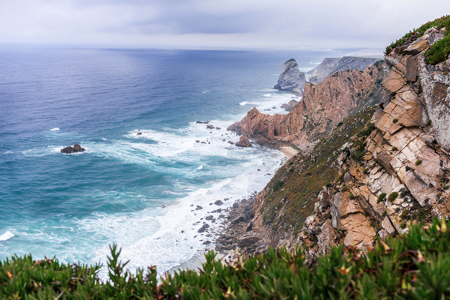 Mama Bear Beach on Cabo da Roca