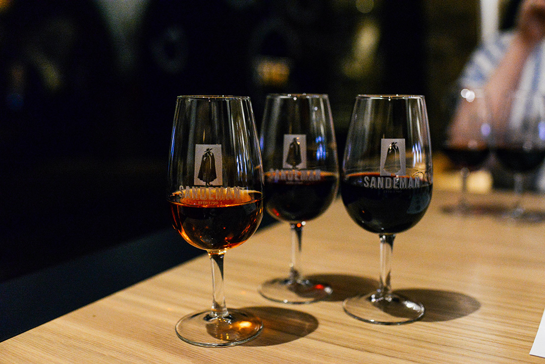 Port Tasting at Sandeman in Porto, Portugal