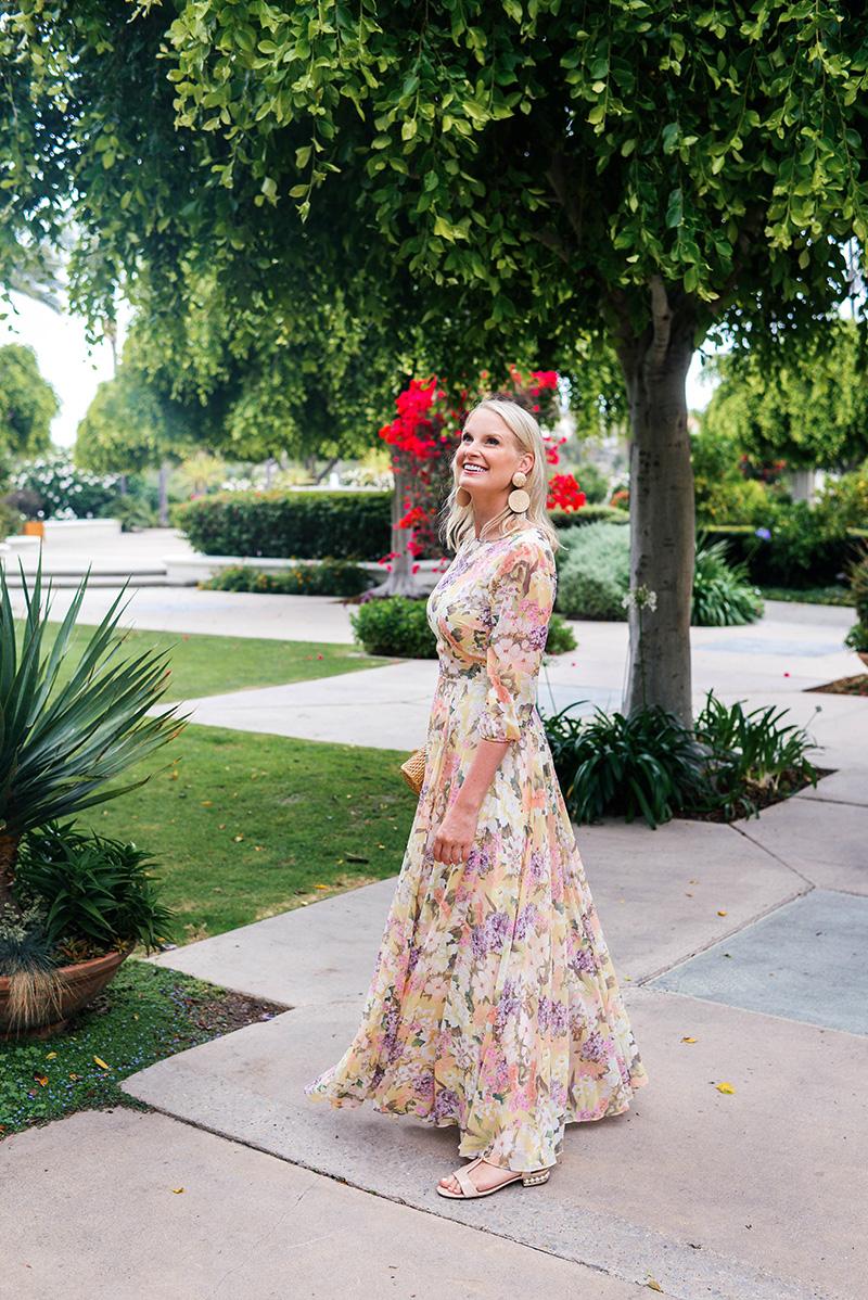 Yumi Kim Woodstock Floral Maxi Dress on Merritt Beck
