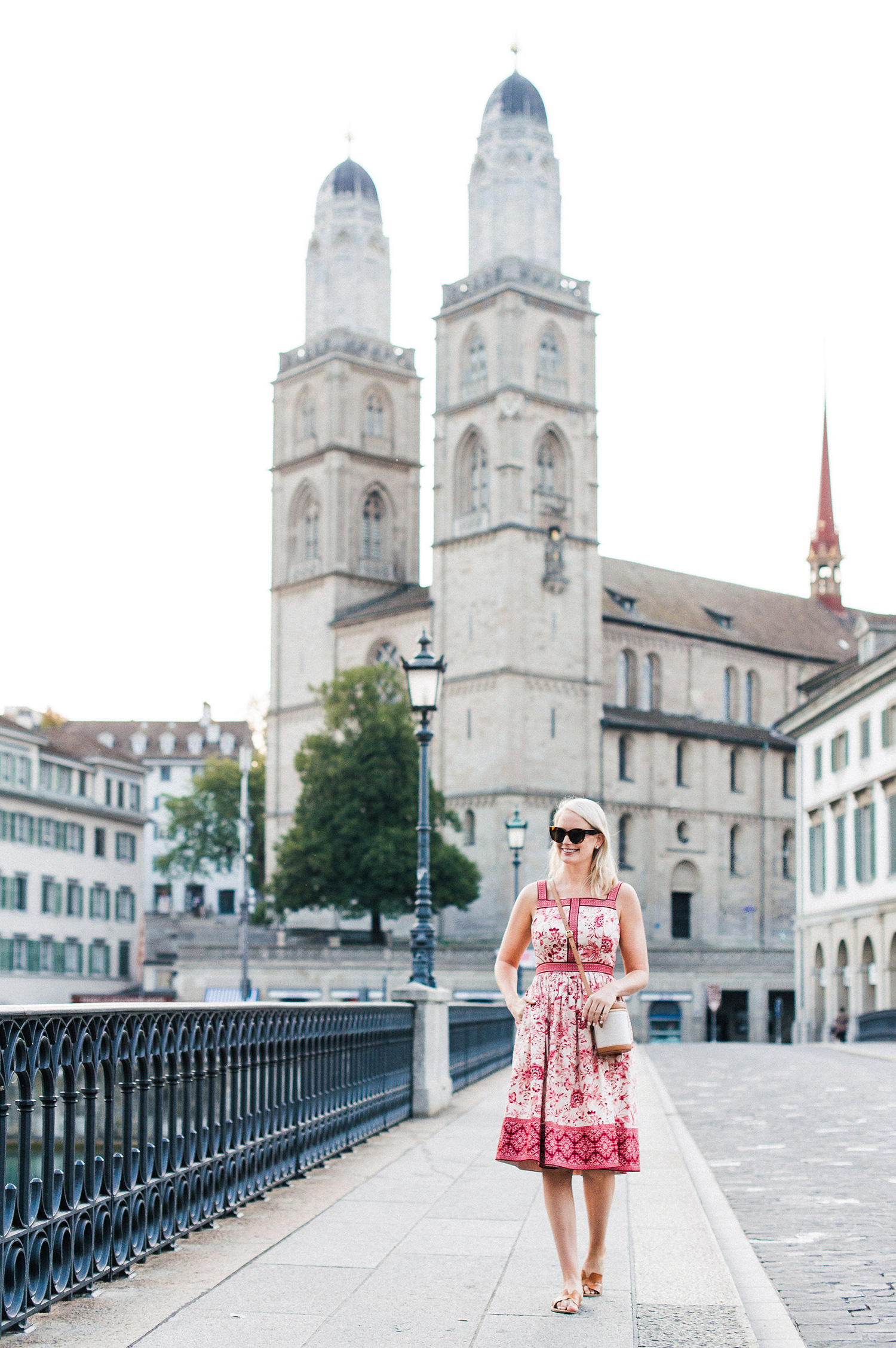 Gal Meets Glam Collection | The Esme Midi Dress on Merritt Beck