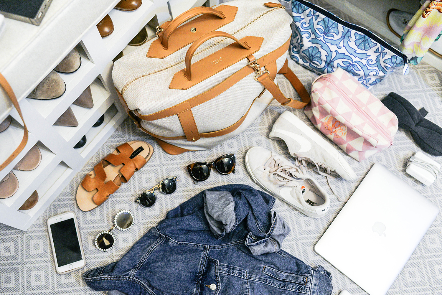 Paravel Weekender in Scout | Carry-On Packing Tips for International Travel