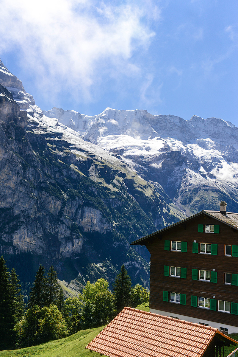 My hike through Lauterbrunnen, Murren, and Gimmelwald, Switzerland