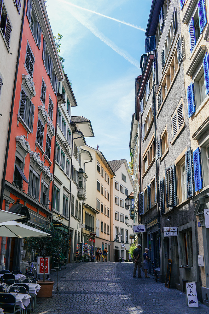Exploring Zurich: Old Town