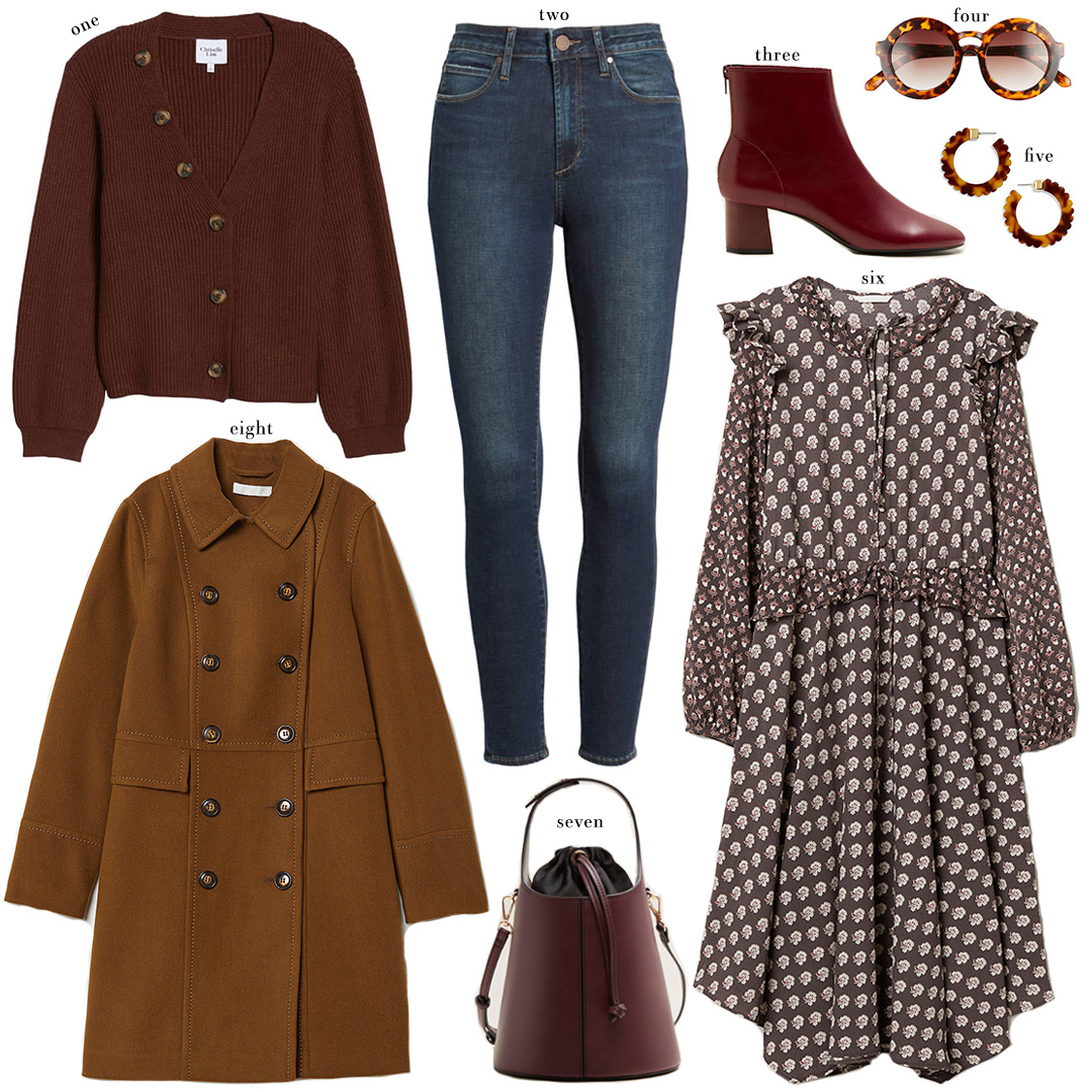 Fall Fashion Collage Under $100 | Budget-Friendly Style Inspiration