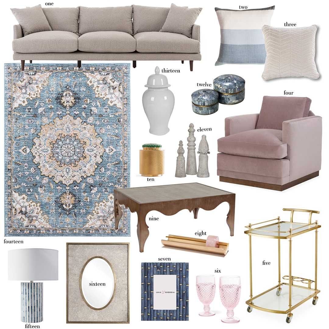 Interior Inspiration | Chic Cozy Living Room Style