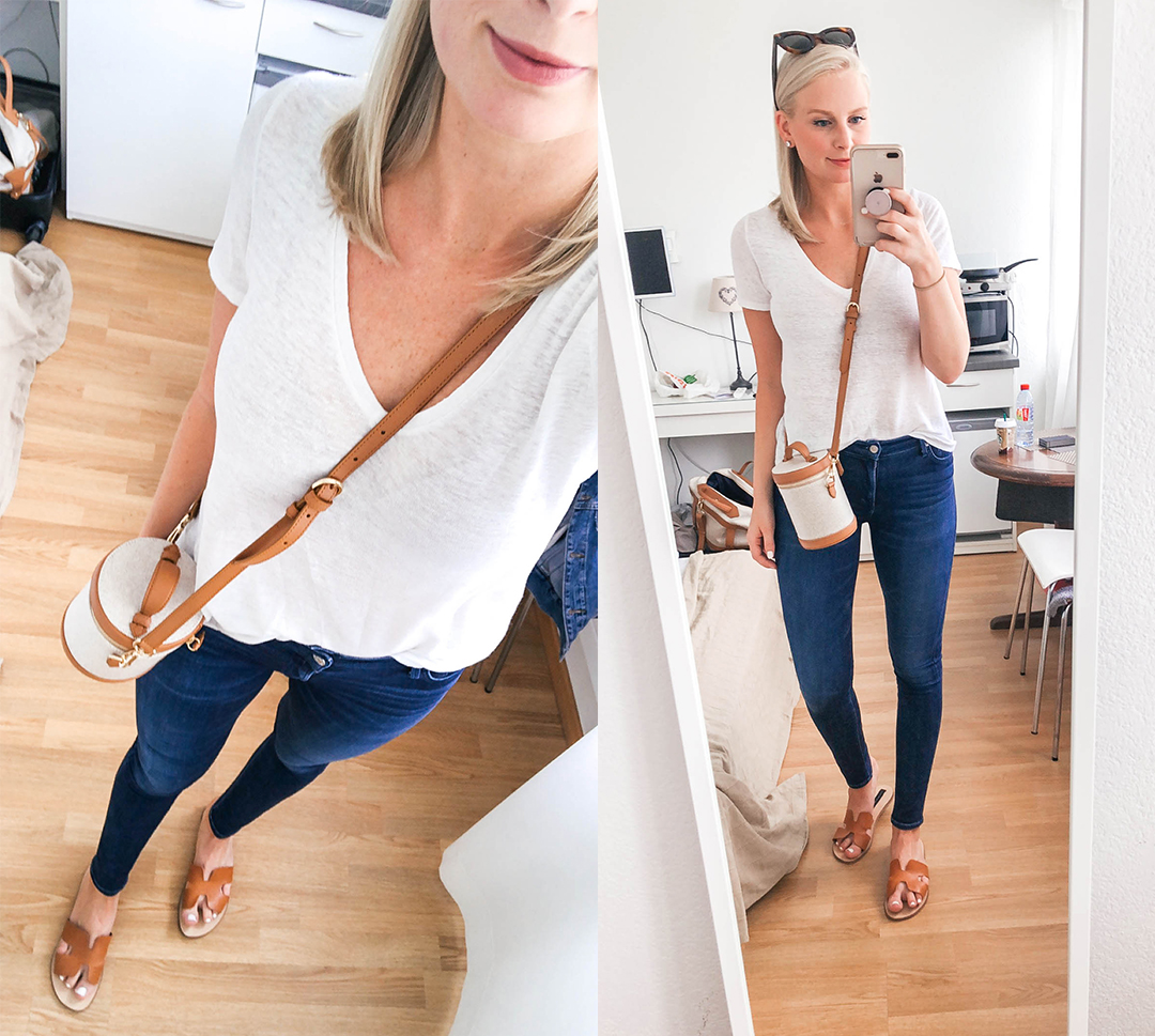 Tee and Jeans Outfit