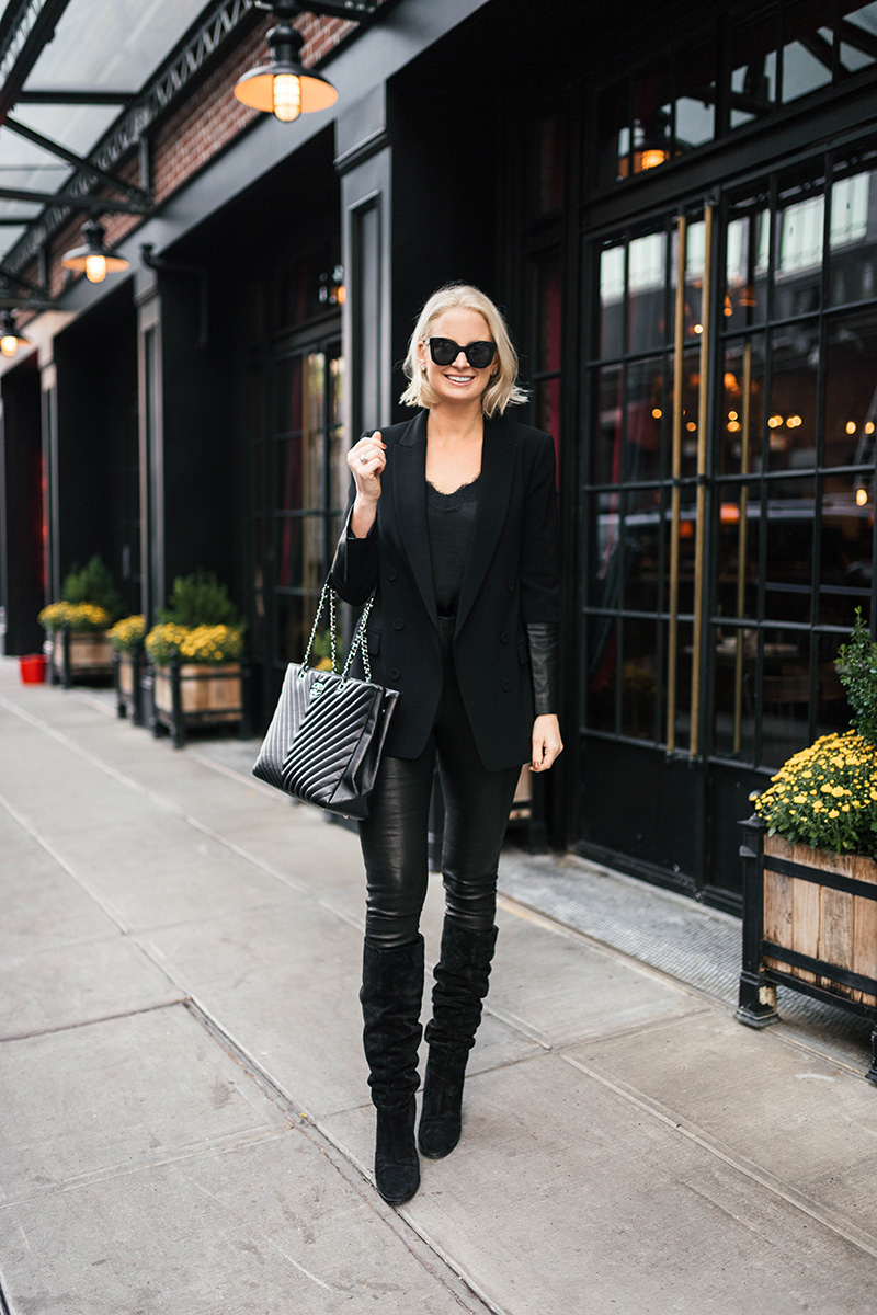 Chic All Black Fall/Winter Outfit Ideas and Inspiration