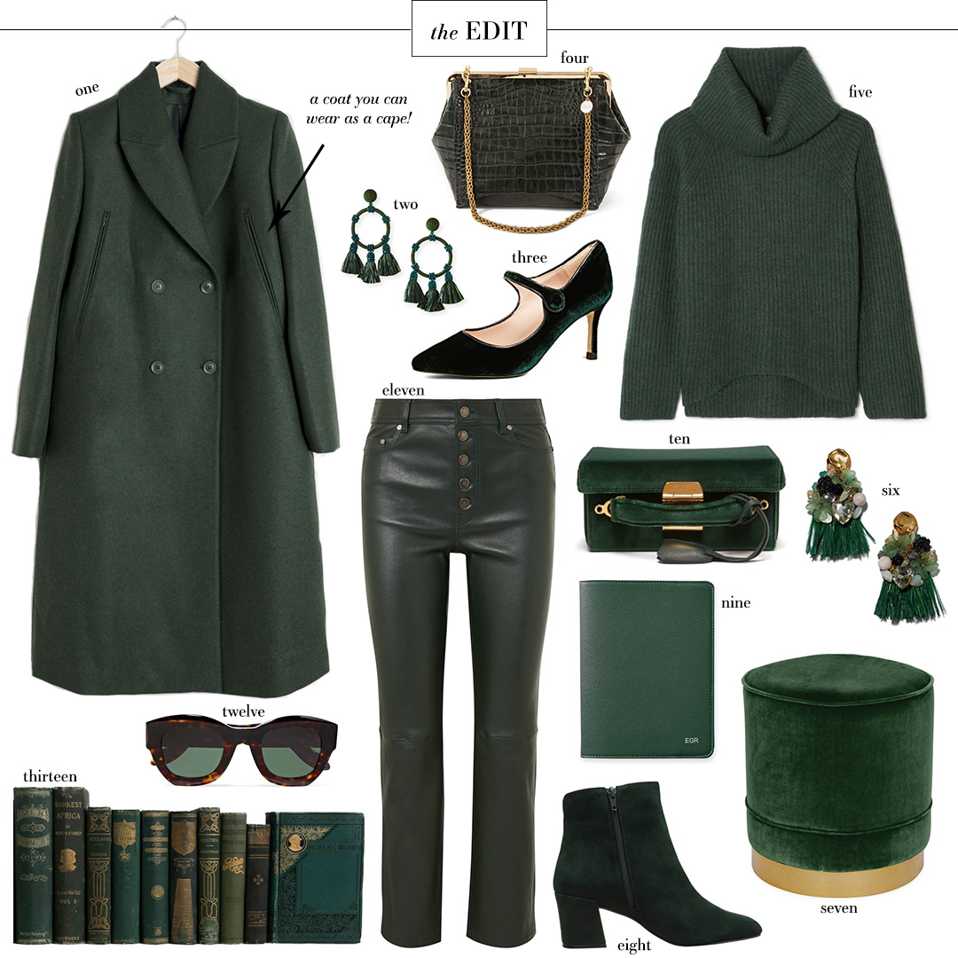 Forest Green Fall Roundup | The Edit
