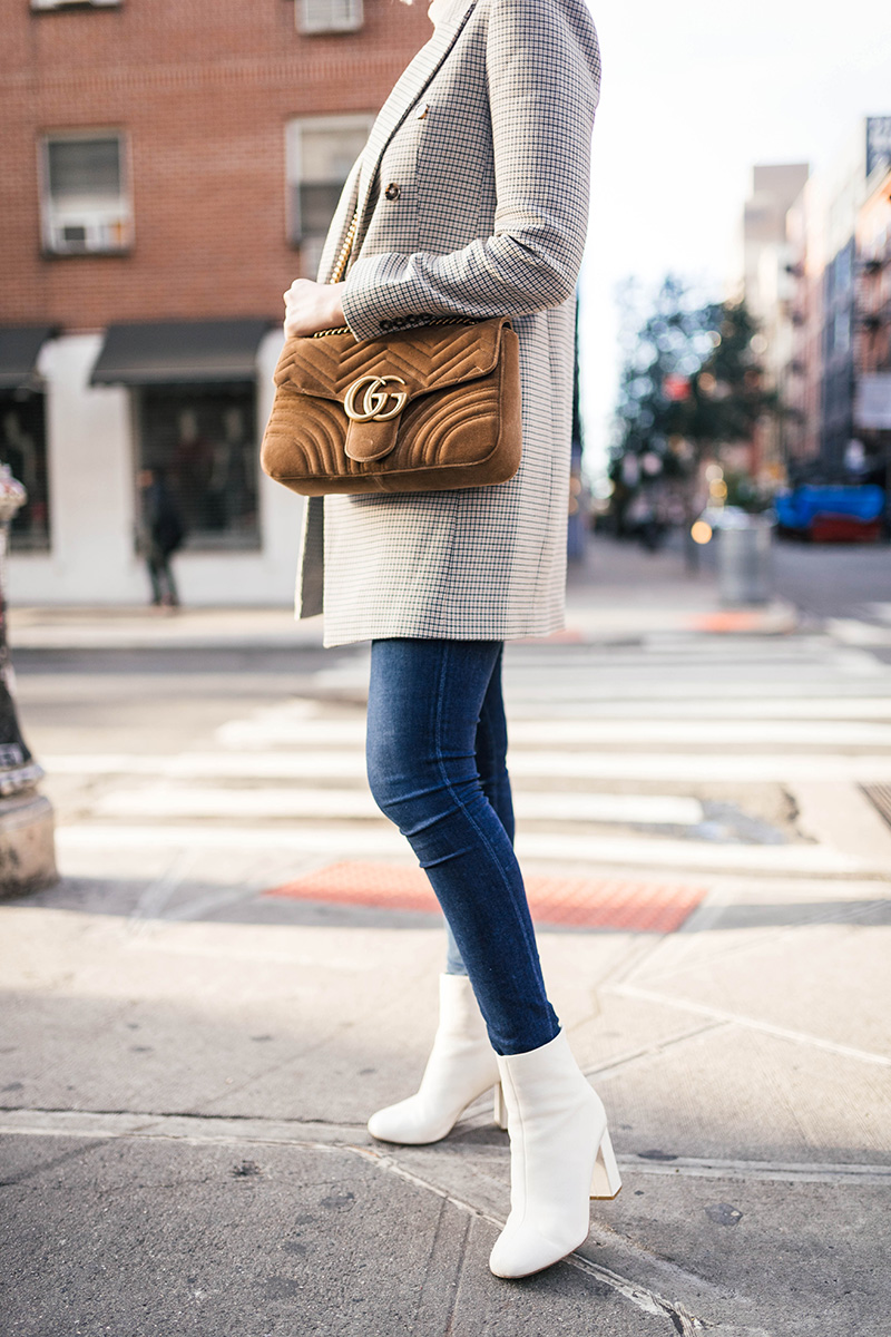 Styling White Ankle Boots for Winter | Club Monaco Heleni Coat
