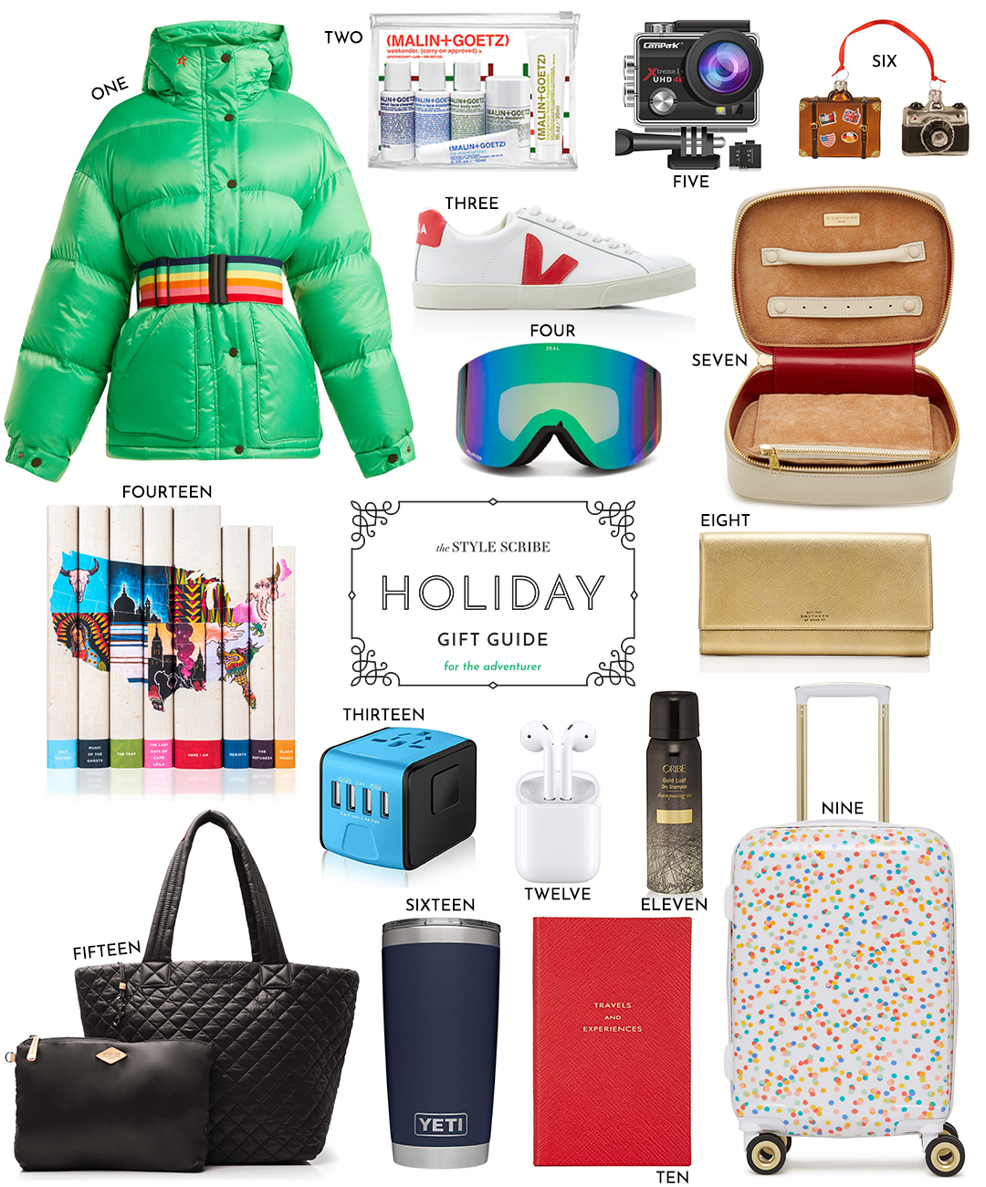 HOLIDAY GIFT GUIDE // BEST GIFT IDEAS FOR THE TRAVELER AND ADVENTURER