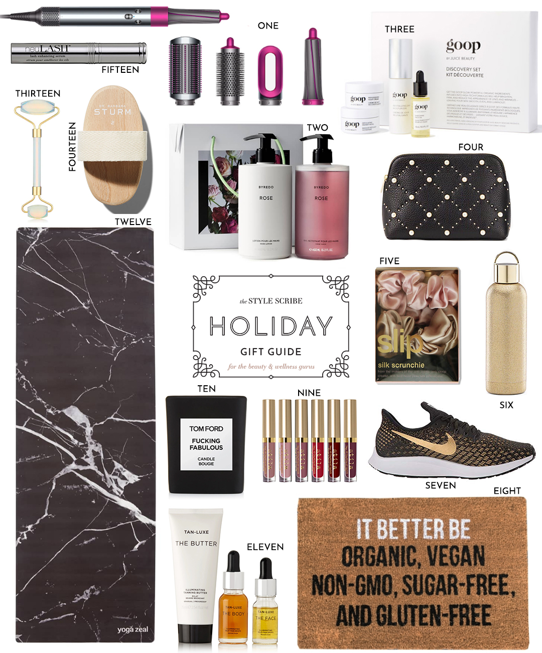 HOLIDAY GIFT GUIDE // FOR THE BEAUTY & WELLNESS GURUS