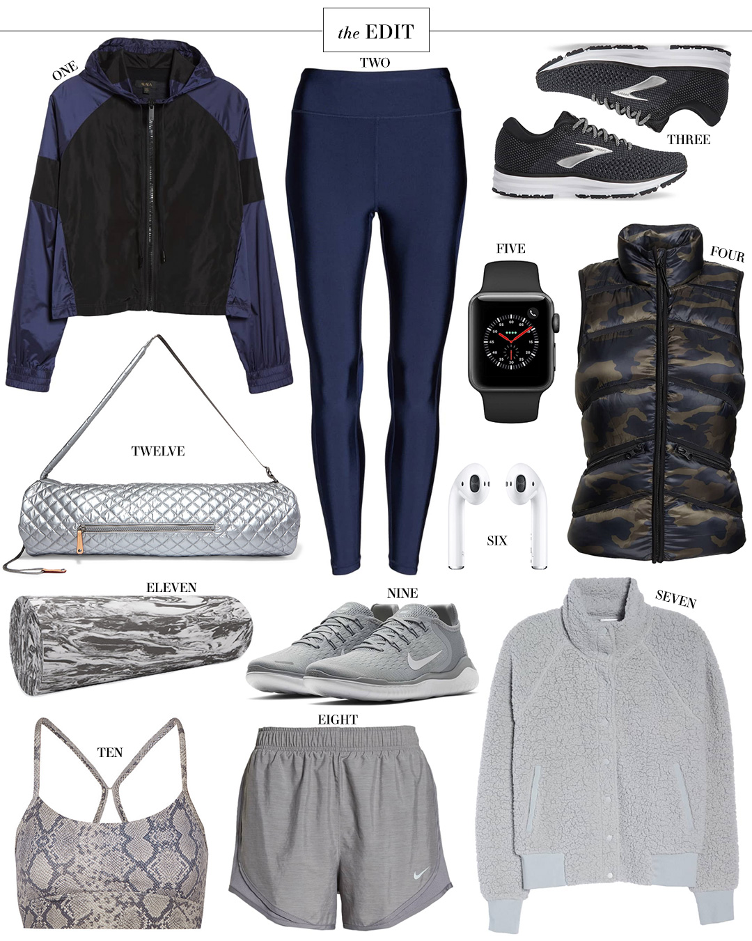 STYLE SCRIBE WELLNESS WEEK FITNESS FAVORITES