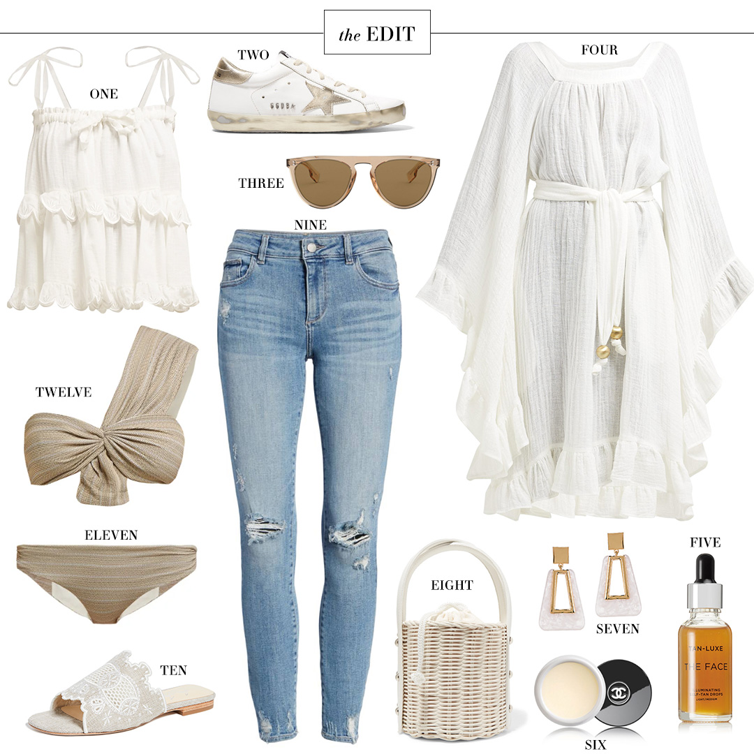 THE EDIT | INNIKA CHO STELLA HOTTE TIERED TOP