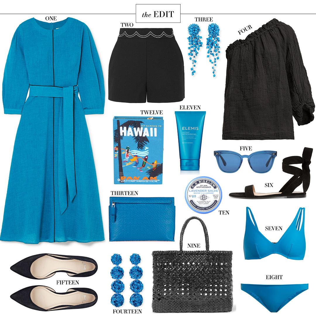 Cefinn Isabel Dress + other turquoise and black spring favorites!