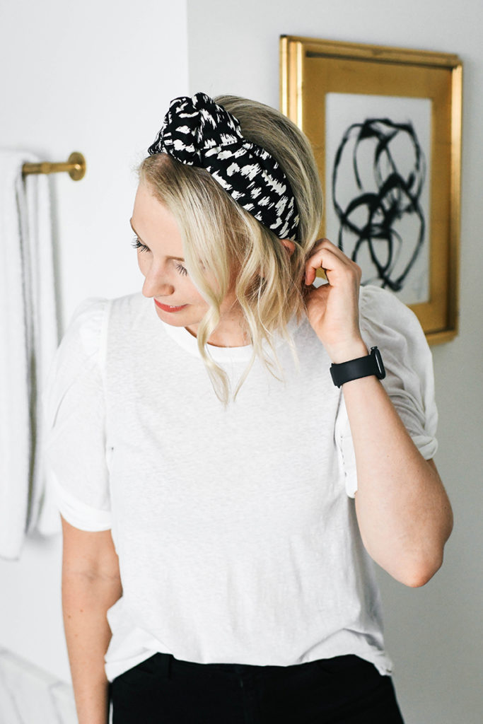 TRY THE TREND: HAIR ACCESSORIES // HOUSE OF LAFAYETTE LOU LOU PRINTED HEADBAND