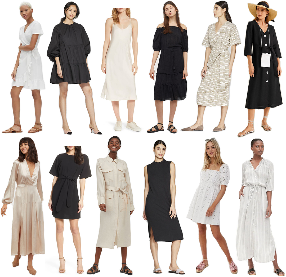 BEST SPRING SUMMER NEUTRAL DRESSES UNDER $100