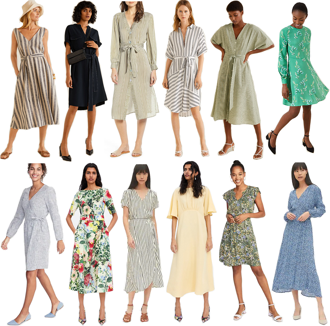 BEST SPRING SUMMER WORK/CHURCH/MODEST DRESSES UNDER $100