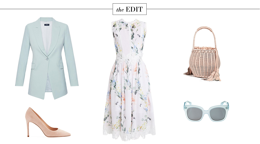 THE EDIT // TED BAKER CERLOE DRESS, THEORY OPAL GREEN BLAZER AND MORE!